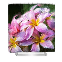 Fall Flowers V.2 Shower Curtain