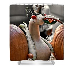 Fall Fowl Shower Curtain by JAMART Photography