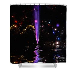 Shower Curtain featuring the photograph Fall From Grace by Naomi Burgess