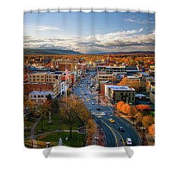 Fall Frontier Shower Curtain