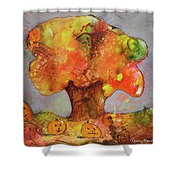 Fall Fun Shower Curtain