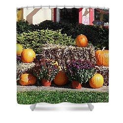 Shower Curtain featuring the photograph Fall Gifts Harvest Time by Irina Sztukowski