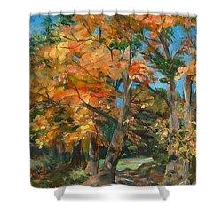 Fall Glory Shower Curtain