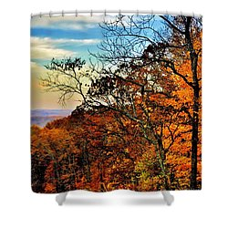 Fall Horizon Shower Curtain