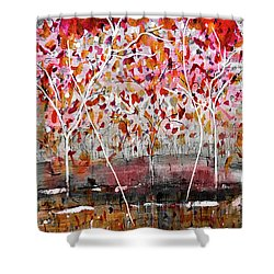 Fall-iage V2.0 Shower Curtain
