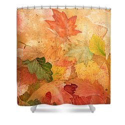 Fall Impressions Iv Shower Curtain