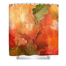 Fall Impressions V Shower Curtain by Irina Sztukowski