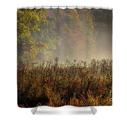 Shower Curtain featuring the photograph Fall In Cades Cove by Douglas Stucky