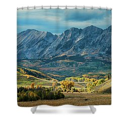Fall In Gunnison County Shower Curtain