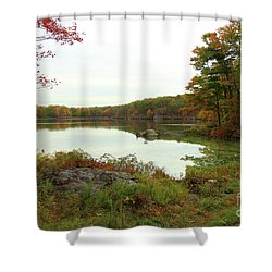 Fall In New York Shower Curtain