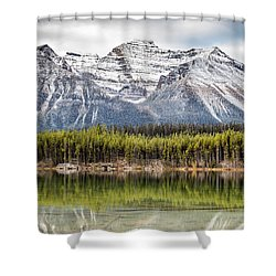 Fall In The Canadian Rockies Shower Curtain