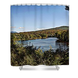 Fall In The White Mountains Shower Curtain by Deborah Klubertanz