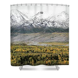 Fall In Wrangell - St. Elias Shower Curtain
