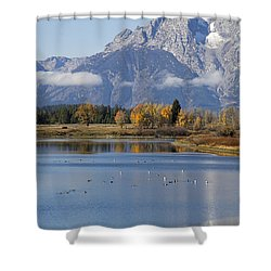 Fall Inteton -3 Shower Curtain