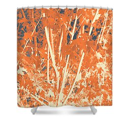 Fall Leaves #3 Shower Curtain