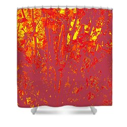 Fall Leaves #4 Shower Curtain
