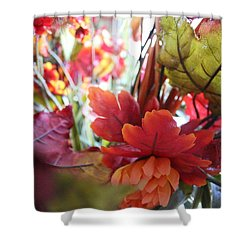 Fall Leaves Design 2 Shower Curtain