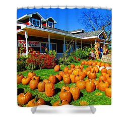 Fall Market Shower Curtain
