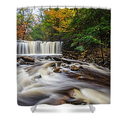 Fall Mixer Shower Curtain