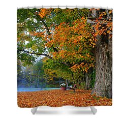 Fall Morning In Jackson Shower Curtain