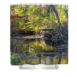 Fall Morning Shower Curtain