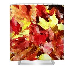 Fall Mosiac Shower Curtain