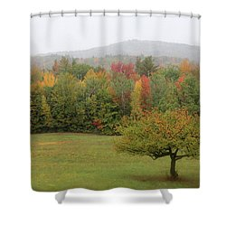 Fall Nh Shower Curtain