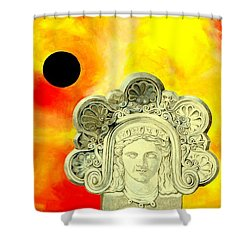 Fall Of Rome II Shower Curtain