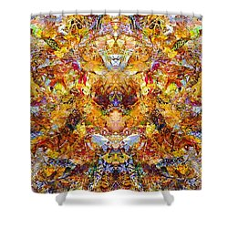 Fall Of The Leaf Gods  Shower Curtain