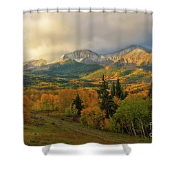 Fall On Mt Sopris  Shower Curtain