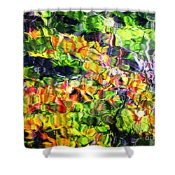 Fall On The Pond Shower Curtain