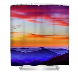 Shower Curtain featuring the photograph Fall On Your Knees by Karen Wiles