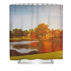 Fall Perfection Shower Curtain