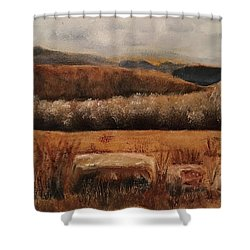 Fall Plains Shower Curtain