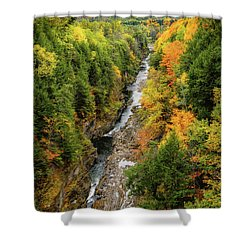 Fall Quechee Gorge, Vt Shower Curtain