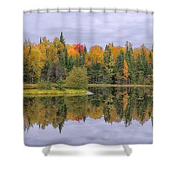 Fall Reflecton Shower Curtain