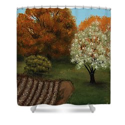 Fall Rendezvous Shower Curtain