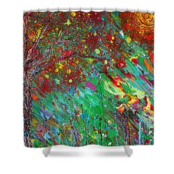 Fall Revival Shower Curtain by Jacqueline Athmann