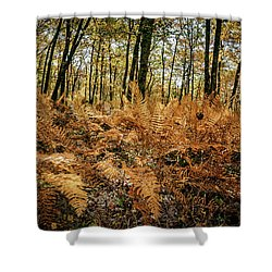Fall Rust Shower Curtain