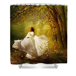 Fall Splendor Shower Curtain by Mary Hood
