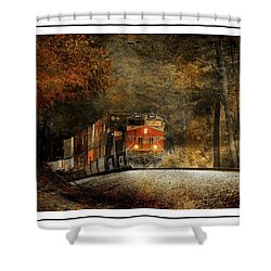 Fall Steel Shower Curtain