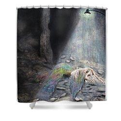 Fallen  Shower Curtain