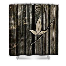 Fallen Leaf Shower Curtain by John Edwards