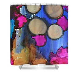 Fallen Tears Shower Curtain