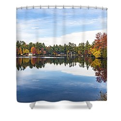 Falling For New Hampshire Shower Curtain