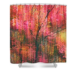 Shower Curtain featuring the photograph Falling Into Autumn by Jessica Jenney