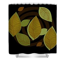 Falling Into Color Shower Curtain by Kandy Hurley