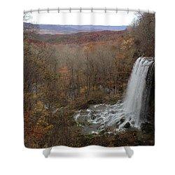 Falling Spring Falls, Va Shower Curtain