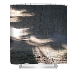 Falling Sunlight Shower Curtain