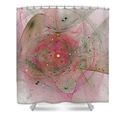 Falling Together Shower Curtain